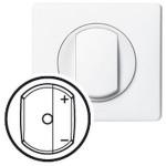 Enjoliveur Céliane - cde pour télévariateur / variateur CPL-IR - blanc