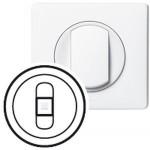 Enjoliveur Céliane - prise HP simple - blanc