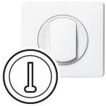 Enjoliveur Céliane - prise téléphone - 8 contacts - blanc