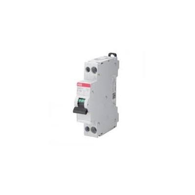 Disjoncteur divisionnaire 10A phase + neutre connection à vis