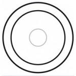 Enjoliveur Céliane - commande tactile - blanc