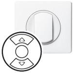 Enjoliveur Céliane - inter / poussoir / cde pour fenêtre de toit - blanc