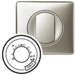 Enjoliveur Céliane - thermostat fil pilote / CPL - titane