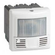 Inter détecteur présence et mouvement Prog. Mosaic - ECO 2-3 fils - 2000W - Blanc