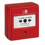 Déclencheur manuel pour équipement d'alarme incendie - saillie