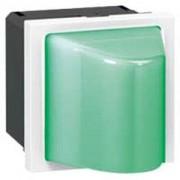 Hublot vert Programme Mosaic - 230 V~ - 2 modules