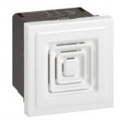 Ronfleur Programme Mosaic - 230 V - 2 modules  - Blanc