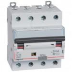 Disjoncteur différentiel tétrapolaire 16A 400V~ - 30mA - 10Ka - Courbe C - 4 modules