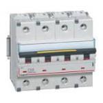 Disjoncteur tétrapolaire 10A - 400V~ 16Ka - Courbe C - 4 modules
