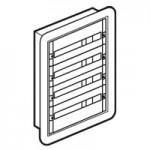 Coffret distribution encastré XL3 160 - tout modulaire - 4 rangées - 96 modules