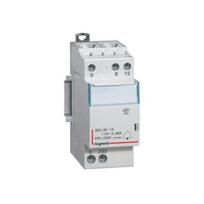 Contacteur de puissance bobine40A - 230 v~ - 2p - 250 v~ - 2F - 2 modules
