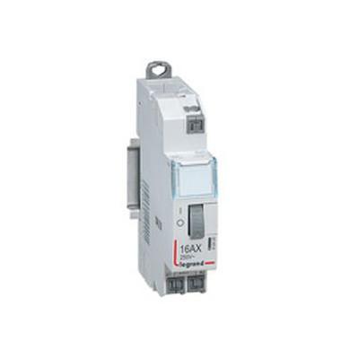 Télérupteur standard à vis 16A  230 v~ - 1p - 250 v~ - 1F - 1 module