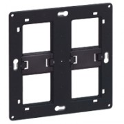 Support grand format Batibox-pour Prog Céliane/Mosaic-2x2 postes-2x4/5 modules
