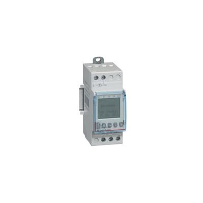 Interrupteur horaire programmable digital 16A - auto - multifonction - 2 sorties - 250v~