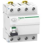 Interrupteur différentiel 25A Acti9 IID - 4P - 30mA - type ASI