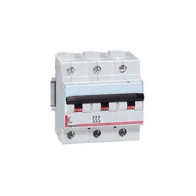 Disjoncteur magnéto-therm 100A DX 6000 - Lexic - 3P - 400 V~  - 15 kA - courbe D