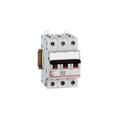 Disjoncteur magnéto-therm DX 6000 - Lexic à vis - 3P - 400 V~ - 32 A - courbe B
