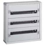 Porte transparente xl³ 125 - ip 40-ik 09 pr coffret 1 rangée