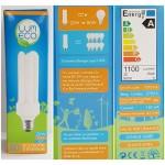 LUM ECO E27 Ampoule 20 Watt basse consommation Lot de 5