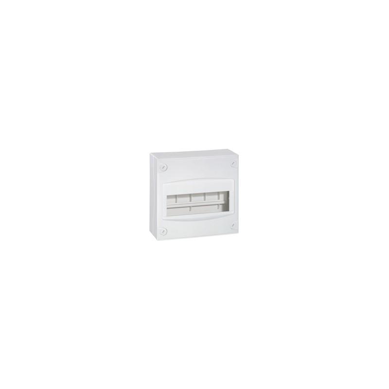 coffret mini 8 9 modules blanc ral 9010 legrand 001308. Black Bedroom Furniture Sets. Home Design Ideas