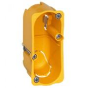 Boîte monoposte Batibox - cloison sèche - pour Céliane/Mosaic - 1 module - prof. 40