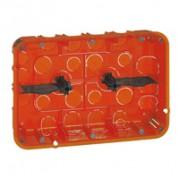 Boîte multimatériaux Batibox - grand format - 2x3 postes / 2x6/8 modules - prof 50