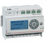 Ecocompteur résidentiel - 5 entrées - 110-230 V~ - 6 modules