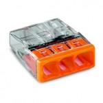 Bornes pour boîtes de dérivation COMPACT borne à 3 conducteurs - Boîte de 100 pièces