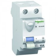 Interrupteur différentiel 63A ID'clic 2P - 30mA - type AC - embrochable - DuoLine XE