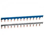 DuoLine XP, Bar'clic peigne de neutre, bleu, 13 modules, 26 pas de 9 mm