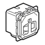 Prise de courant standard US Céliane - 15A - 2P+T